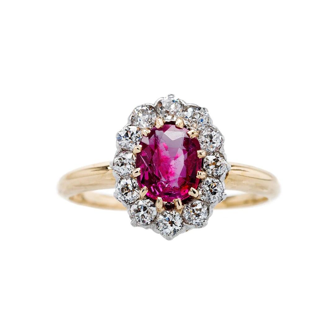 Fullsize Of Ruby Engagement Rings