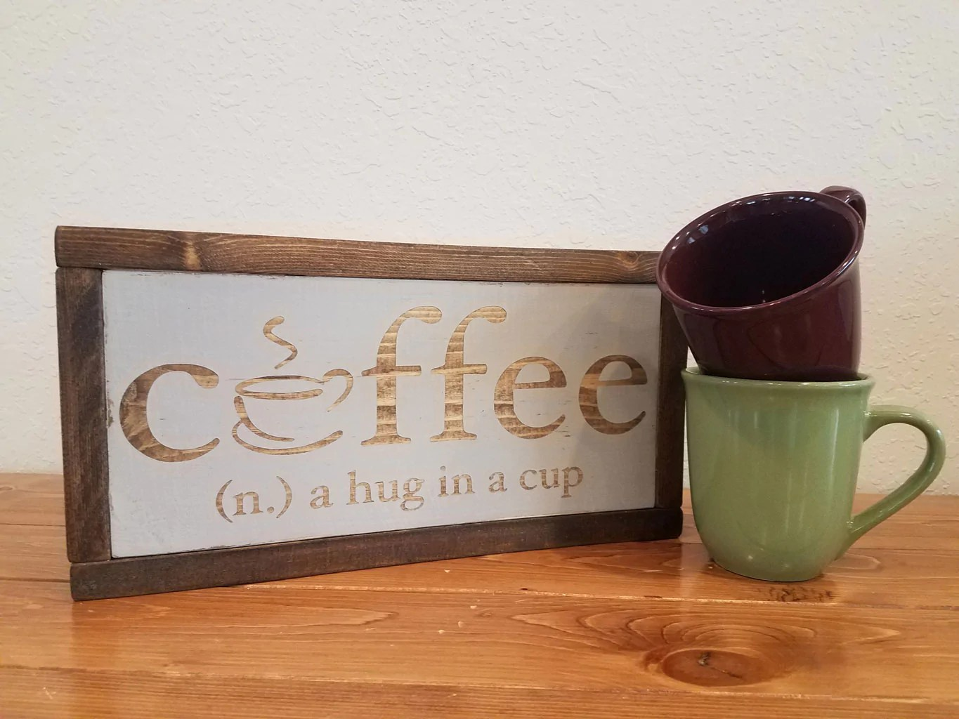 Fullsize Of Wood Coffee Cup