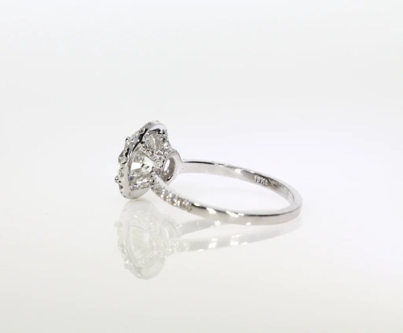 Large Of Round Cut Engagement Rings