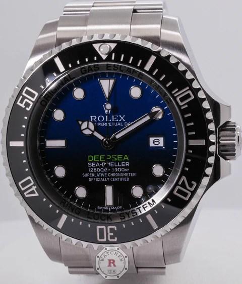 Rolex DEEPSEA D-BLUE 44mm James Cameron 116660 – Watches R Us