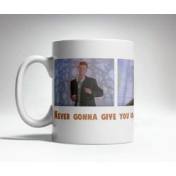 Perky Rick Roll Prank Mug Rick Roll Prank Mug Trick Mugs Coffee Mug Images Free Coffee Mug Images