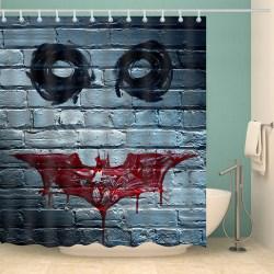 Small Of Batman Shower Curtain