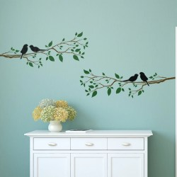 Extraordinary Craftstar Birds On A Branch Wall Stencil Birds On A Branch Wall Home Decor Template Craftstar Birds On A Branch Table Lamp Birds On A Branch Images