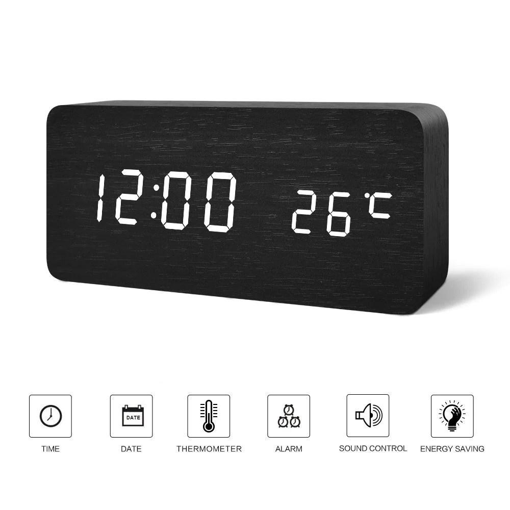 Fulgurant Fibisonic Control Alarm Clock Rmometer Fibisonic Control Alarm Clock Rmometer Alarm Clock Iphone Alarm Clock 2017 houzz-03 Modern Alarm Clock