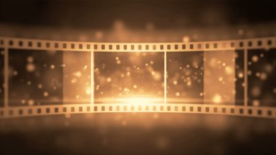 Film Reel Animated Background Stock Footage Video 3673868 - Shutterstock