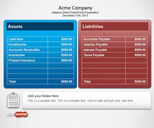 Free Balance Sheet PowerPoint Template - Free PowerPoint ...