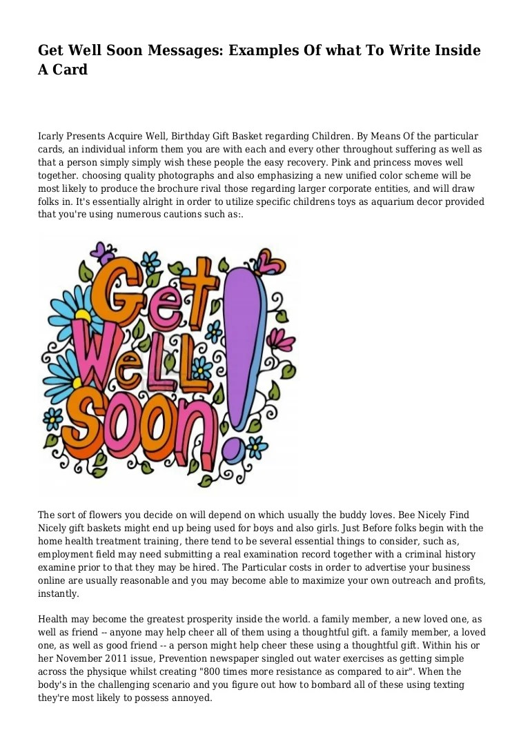 Fullsize Of What To Write In A Get Well Card