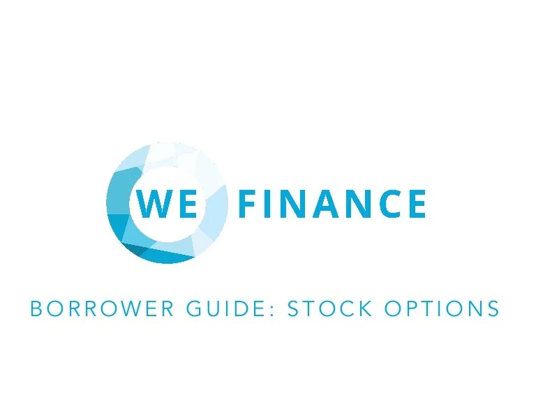 Borrower Guide: Stock Options
