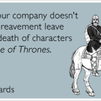 Why characters die in Game of Thrones