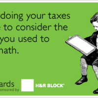 Taxes Require Math Skills