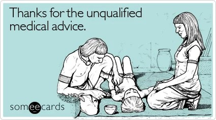 thanks unqualified medical get well ecard someecards Ask a Monican