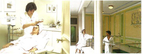 Retro photos of the spa