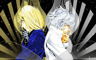 Mello and Near wallpaper - Anime wallpapers - #14043