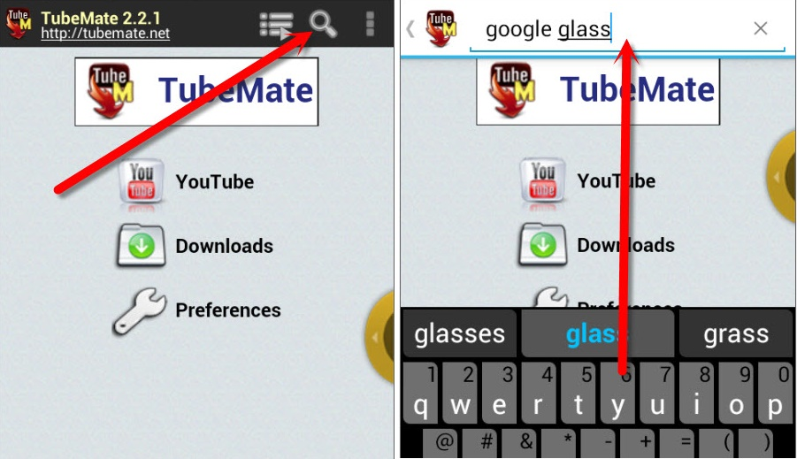 Tubemate search