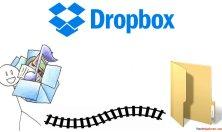 Change Dropbox default folder location