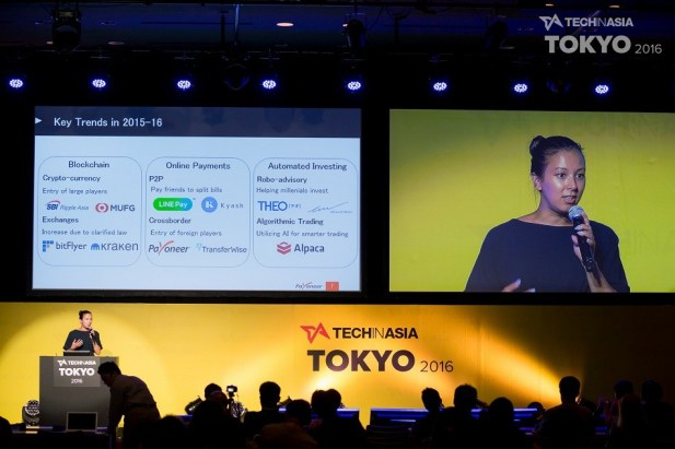 Tech in Asia Tokyo 2016 - Natalie Fleming on fintech in Japan