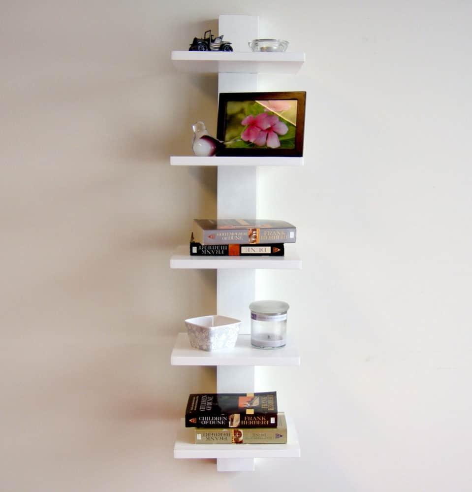 Fullsize Of On Wall Bookshelf