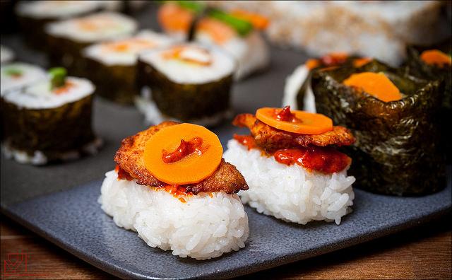 Sushi I © Yannig Van de Wouwer/Flickr
