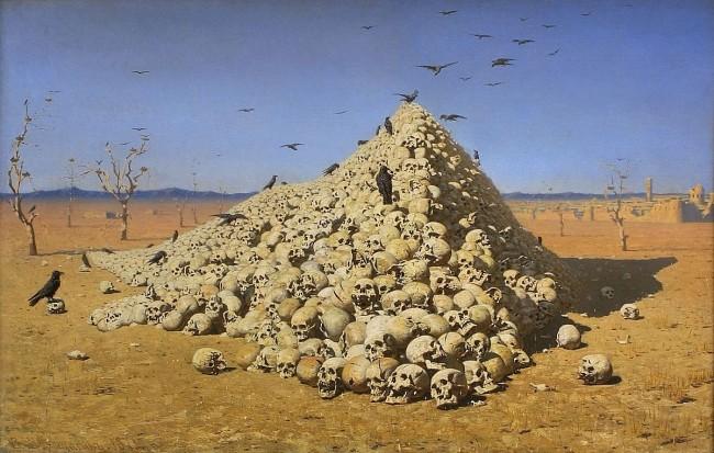The Apotheosis of War | © Vasily Vereshchagin/WikimediaCommons