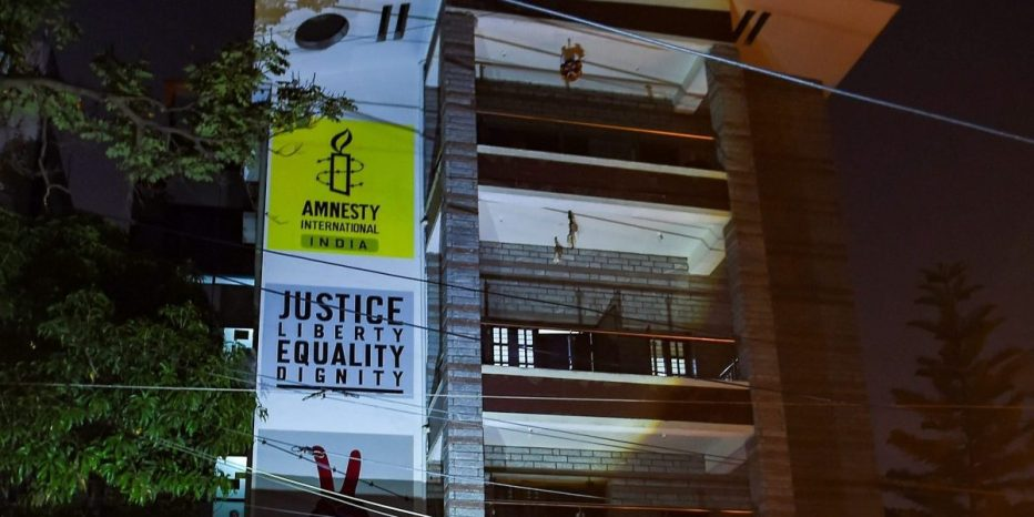 Amnesty International India Shuts Down, Blames Government's 'Reprisal'