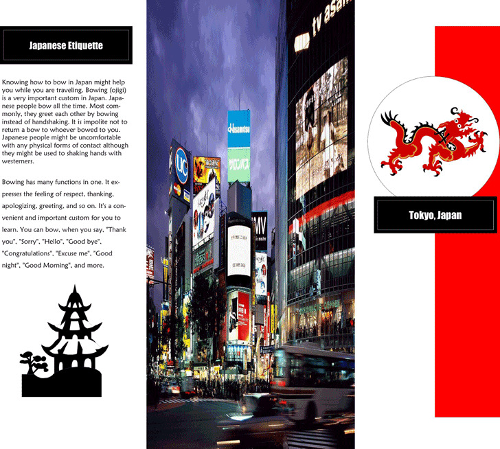 Download Travel Brochure Examples for Free   TidyTemplates Travel Brochure Example 1
