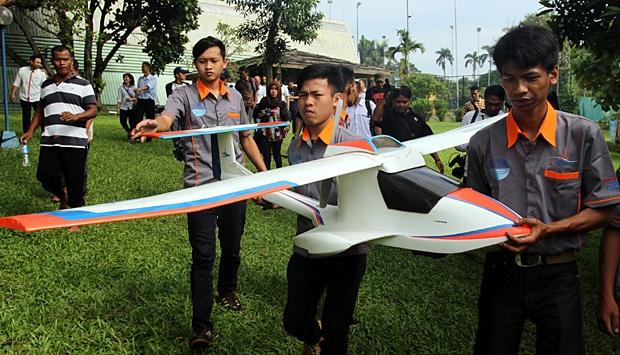 Pesawat tanpa Awak OS-Wifanusa Bisa Mendarat di Air