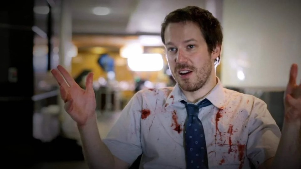 The Belko Experiment Featurette - Mike Milch (2017) Screen Capture