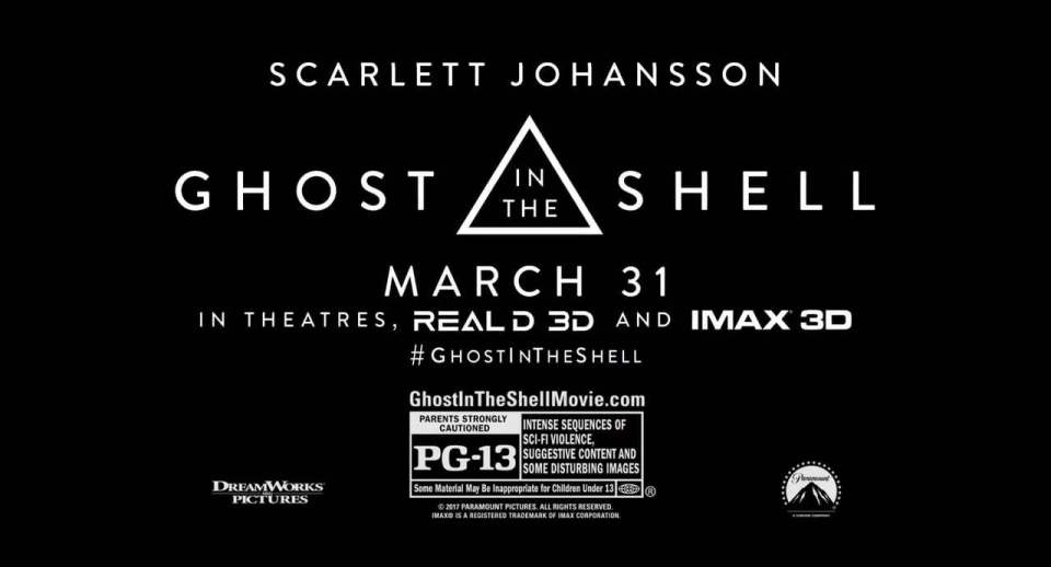 Ghost in the Shell TV Spot - Anything (2017) Screen Capture