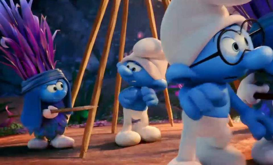 Smurfs: The Lost Village TV Spot - Two Tribes (2017) Screen Capture