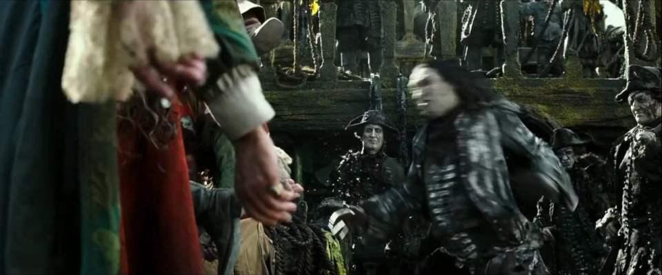Pirates of the Caribbean: Dead Men Tell No Tales TV Spot - Javier Bardem (2017) Screen Capture