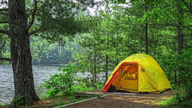 America s 30 Most Scenic Camping Destinations   TravelPulse A campsite in Minnesota s Voyageurs National Park
