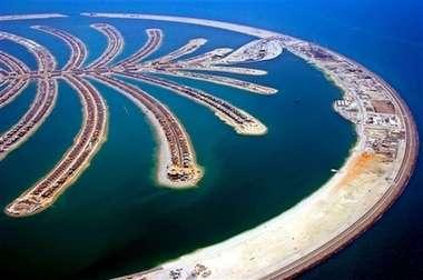 Man Made Islands: Dubai's Palm Jumeirah Nears Completion