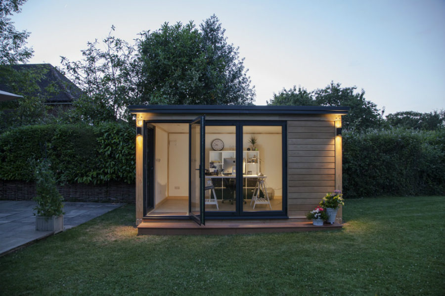 Trendir View In Gallery Small Office Pod 900x599 21 Modern Outdoor Home Office Sheds  You Wouldnt Want To Leave