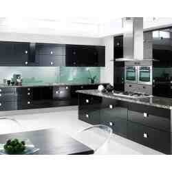 Small Crop Of Black Cabinet Kitchens
