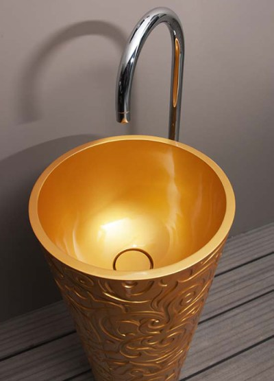 Color Wash Basins by Regia