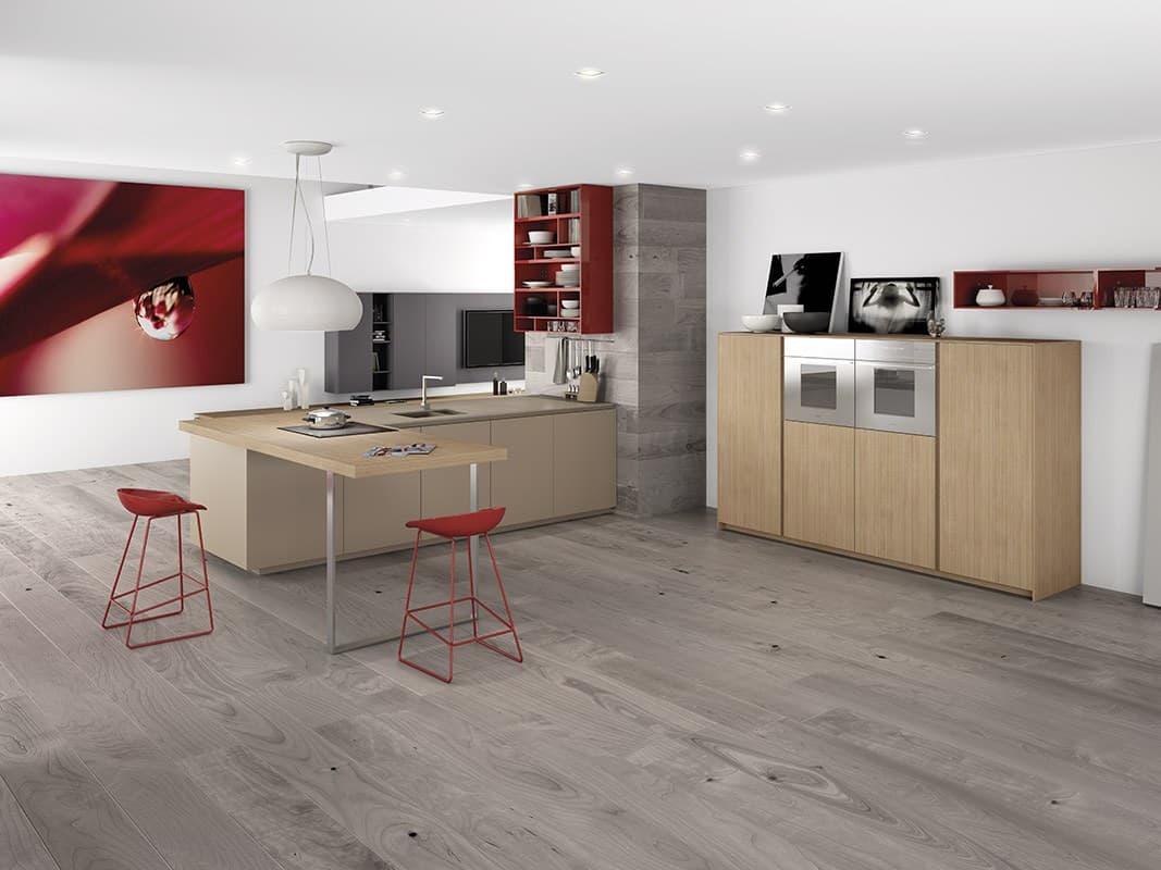 Fullsize Of Red Modern Kitchens