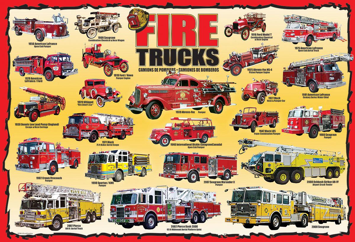 Sunshiny Ladders Sirens Toy Fire Trucks Lights Fire Trucks Vehicles Jigsaw Puzzle Fire Trucks Jigsaw Puzzle Toy Fire Trucks baby Toy Fire Trucks