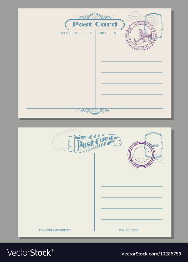 Fullsize Of How To Address A Postcard