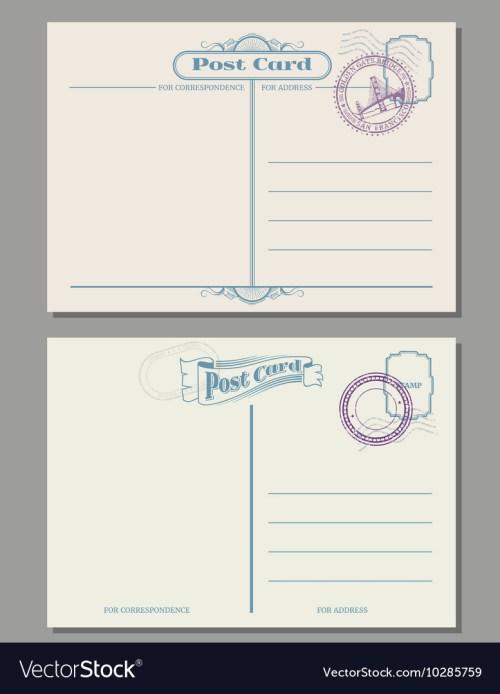 Medium Of How To Address A Postcard