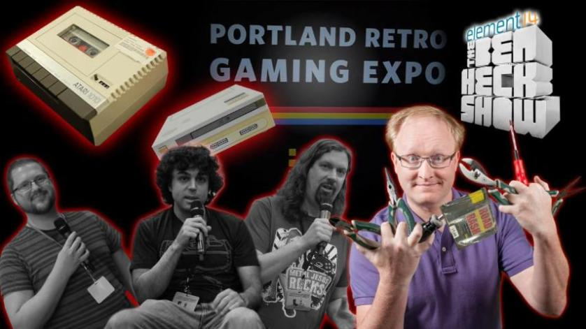 The Ben Heck Show - Episode 265 - Ben Heck's Nintendo PlayStation Update at Portland Retro Gaming Expo