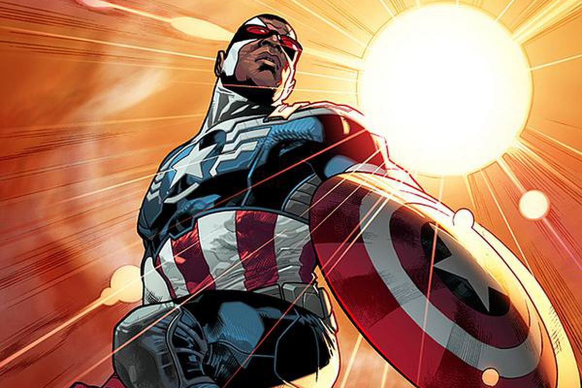 Marvel is replacing Steve Rogers with the new  black Captain America     Sam Wilson  the new Captain America Marvel