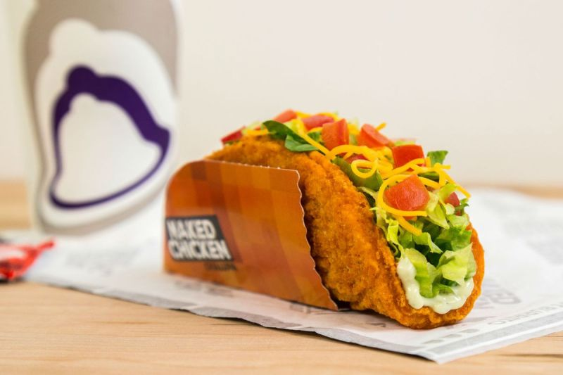 Large Of Fried Chicken Taco