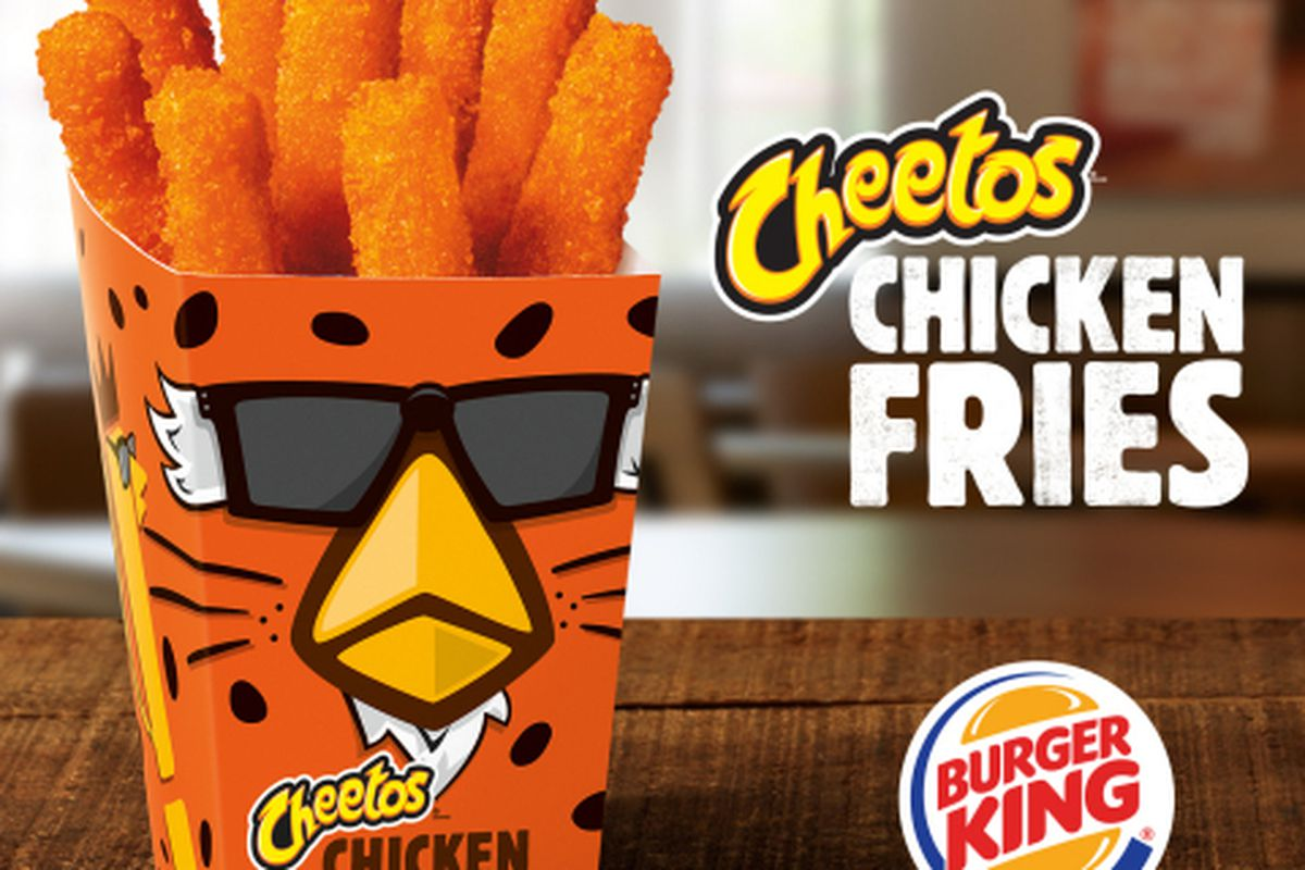 First Burger King Burger Cheetos Ken How Did We Get Eater Burger King Mac Cheetos Uk Cheetos 2018 Burger King Mac nice food Burger King Mac And Cheetos