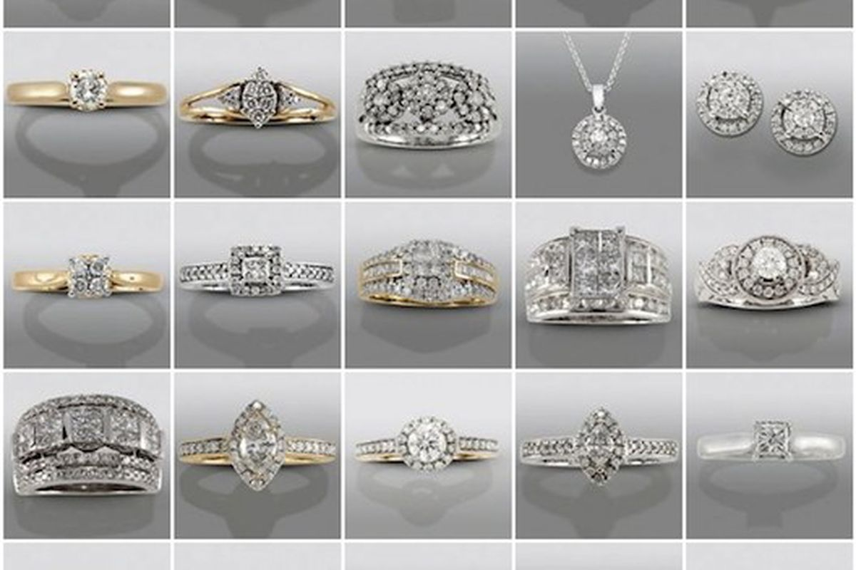my fair wedding host david tutera launches jewelry collection sears wedding bands Launching today at Sears My Fair Wedding s host David Tutera s bridal jewelry collection a line of engagement rings and wedding bands in a variety of