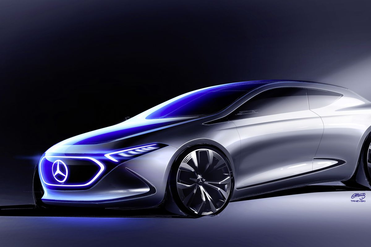 Mercedes Benz Concept EQA is the company s next showcase of mobility     Photo  Mercedes Benz
