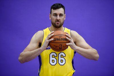 Lakers Injury Report: Andrew Bogut finally scrimmages, optimistic Josh Hart Achilles update ...