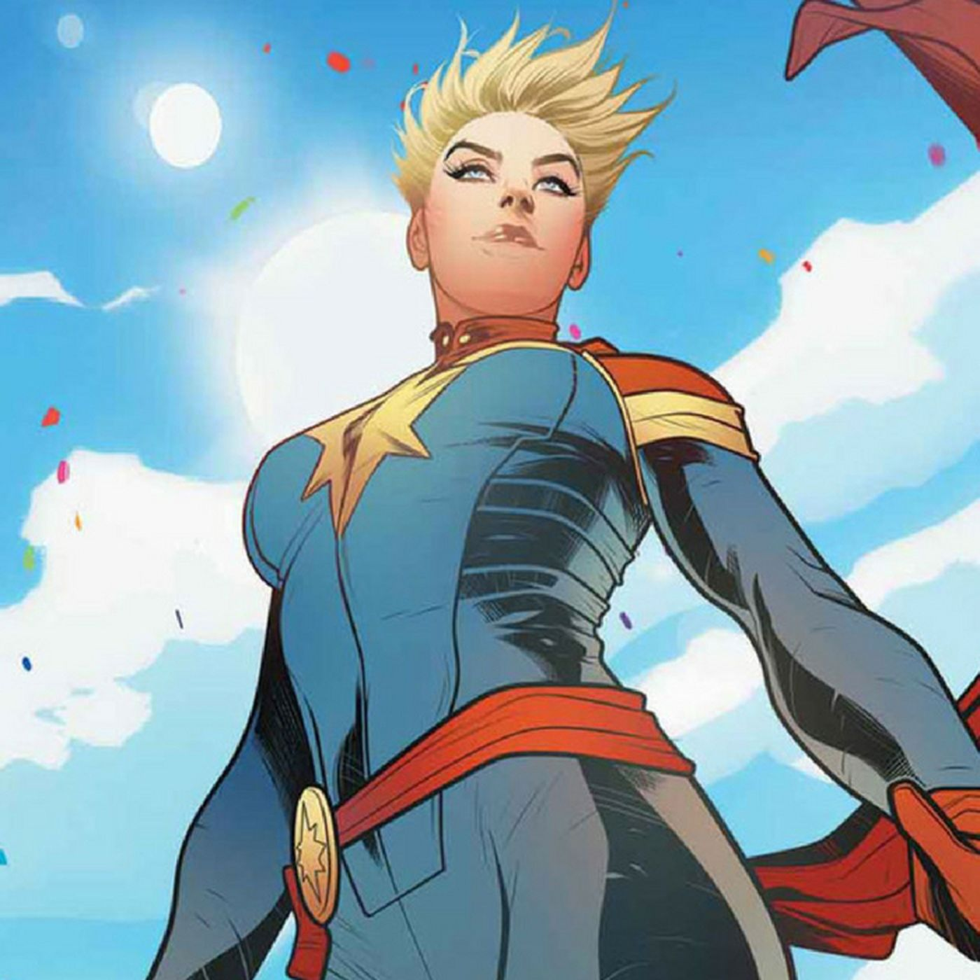 Setting Captain Marvel in the  90s hints at how much she matters     Setting Captain Marvel in the  90s hints at how much she matters   The Verge