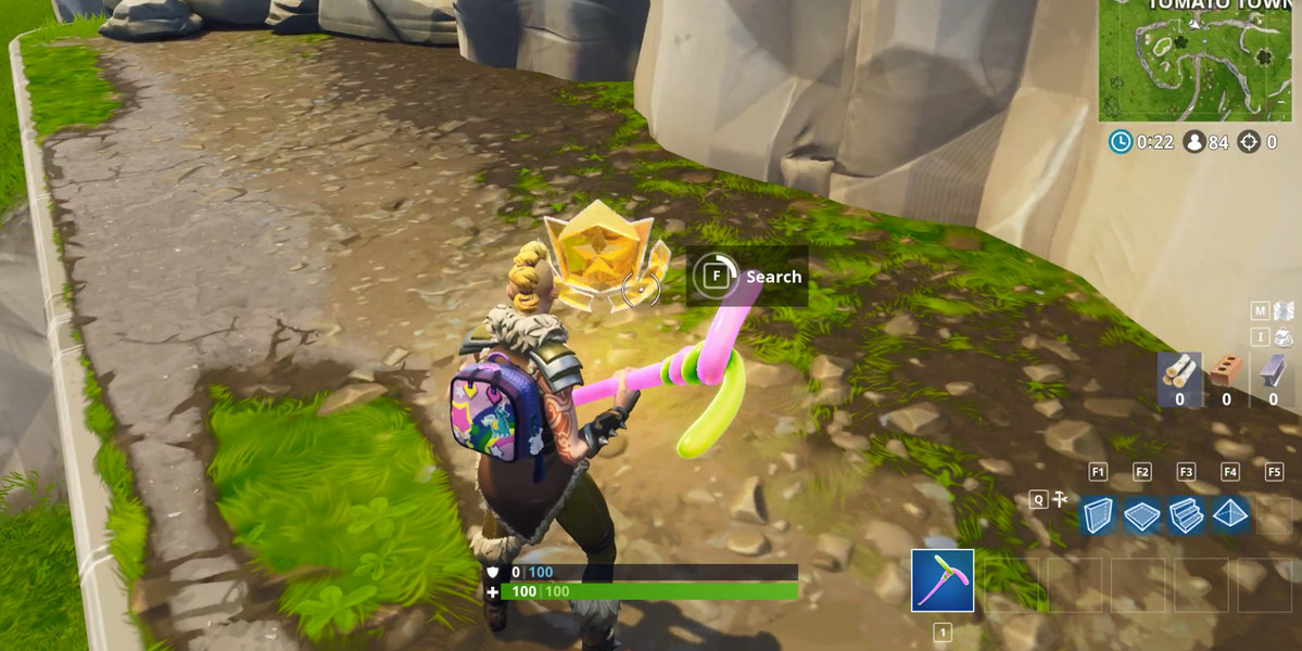 Follow the treasure map found in Risky Reels   Fortnite Season 5     Follow the treasure map found in Risky Reels   Fortnite Season 5 challenge  location guide   Polygon