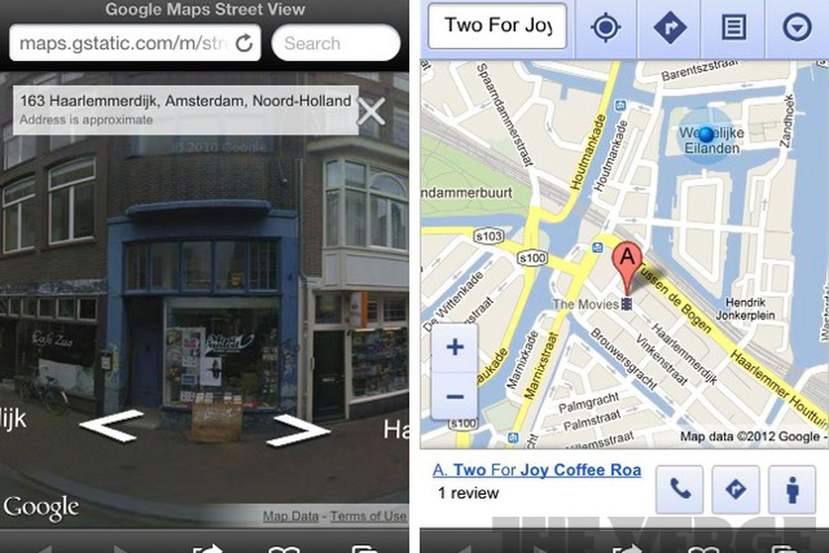 Google Maps Street View now live in iOS web app   The Verge Google street view ios web app