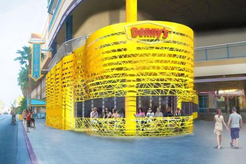 Dashing Bonus Dennys Las Vegas Strip Coupons Dennys Las Vegas Nv Bonus Weddingchapel Beh Futuristic Giant Yellow Vegas Beh Futuristic Giant Yellow Vegas